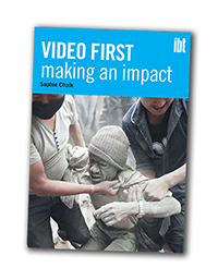 Report cover for 'Video First: making an impact'